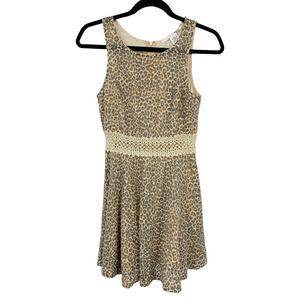 Ellison Sleeveless Cheetah Print Dress